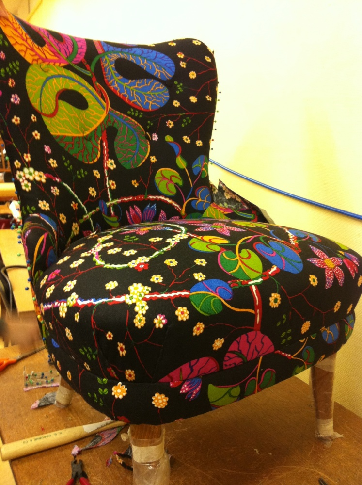 Upholstery course spring 2012 - 1st time (1/6)