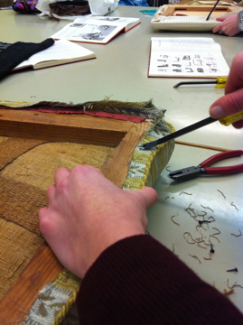 Upholstery course spring 2012 - 1st time (5/6)