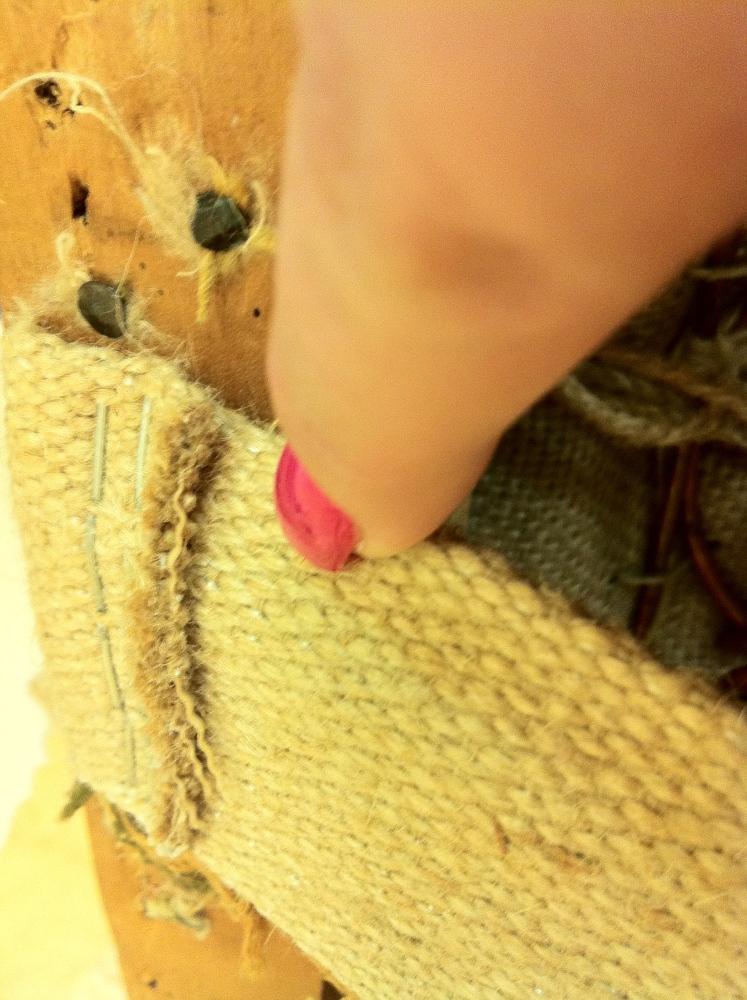Tapetserarens smarta knep 10 - sadeljord och skarpa kanter (2/4)