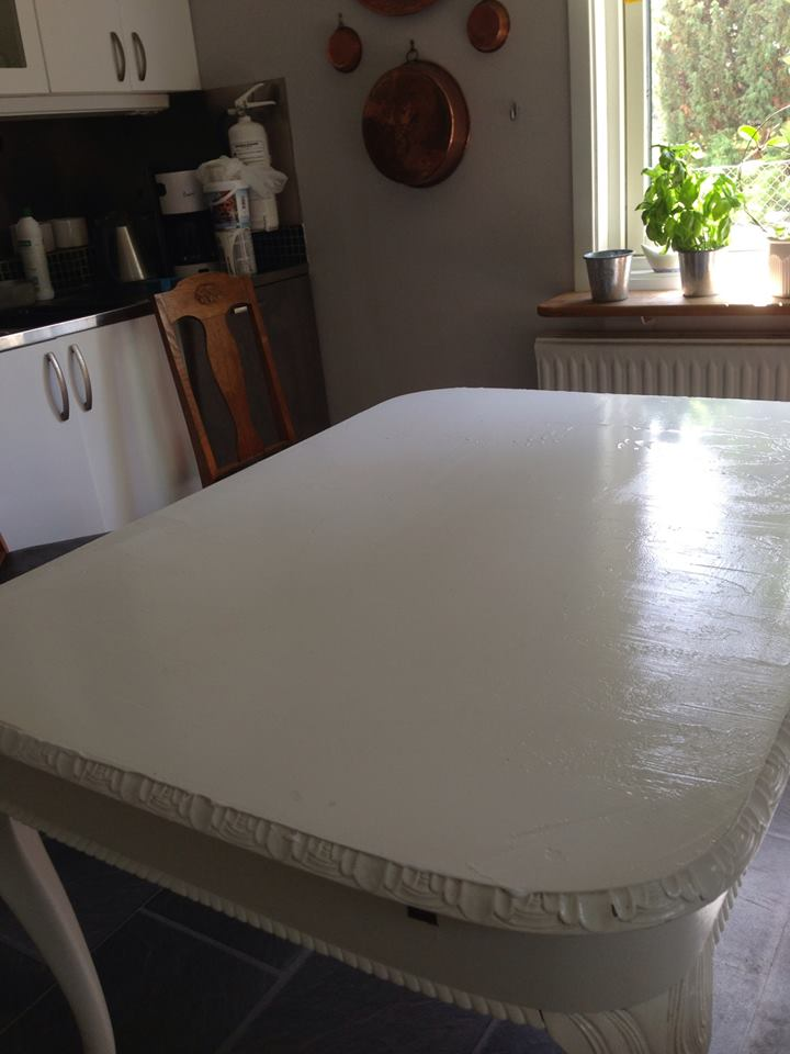 How to restore a kitchen table - in my way (3/6)