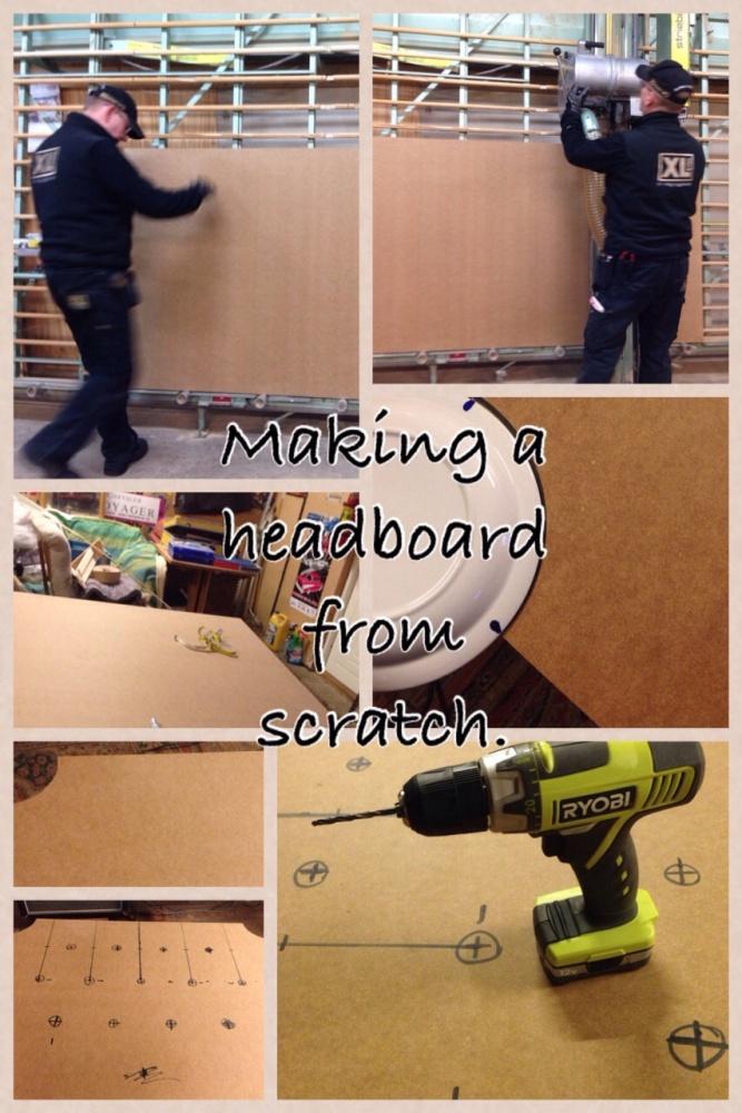 Making a headboard all by myself (4/6)